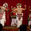 Show in traditional Sri Lankian theatre — Stock fotografie