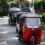 ������, ������: Popular asian transport as a taxi