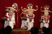 Show in traditional Sri Lankian theatre — Stock Photo