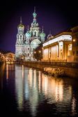 """St.Petersburg, Russia. """"Spas na Krovi"""" cathedral — Stock Photo"""