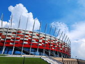 National Stadium in Warsaw, Poland — Stock Photo