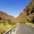 Barranco de Guayadeque, Gully on Gran Canaria, Canary Islands, Spain — Stock Photo