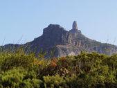 Roque nublo, gran canaria, wyspy kanaryjskie, hiszpania — Zdjęcie stockowe