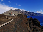 Lighthouse on Punta Teno, Tenerife, Canary Islands, Spain — Stock Photo