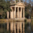 Villa Borghese Garden, Rome, Italy - Stock Photo