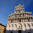 Stock Photo: Cathedral in Lucca, Italy