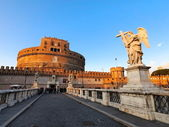 Castel Sant Angelo, Rome, Italy — Stock Photo
