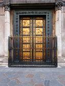 Puertas del baptisterio, florencia, italia — Foto de Stock