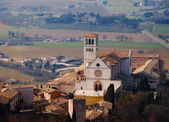The Basilica of San Francesco d'Assisi, Italy — Stock Photo