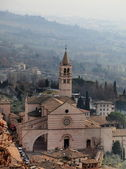 Basilica di Santa Chiara, Assisi, Italy — Stock Photo