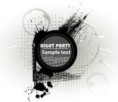 Abstraction template grunge party. Vector eps10 — Stock Vector