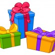 Royalty-Free Stock : Cartoon gifts