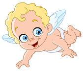 Piccolo angelo — Vettoriale Stock