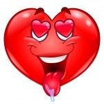 In love heart — Stock Vector