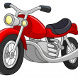 Stock Vector: Motorcycle