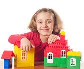 Lilla flicka k — Stockfoto