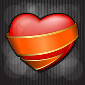 Valentine`s Day heart — 图库矢量图片