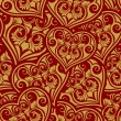 Valentine day seamless pattern — Stock Vector