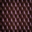 Luxury buttoned leather texture - Stock Photo