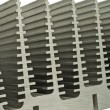 Close Up Of Heat Sink — Stock Photo