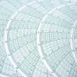 Stock Photo: Abstract Spherical Graph Design