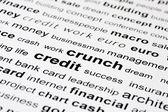 Financial credit crunch — Stock Photo