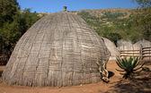 African grass hut — Stock Photo