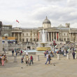Trafalgar Square and the National Gallery — Stock Photo #10058157
