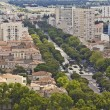 Stock Photo: Aerial view of Nimes, France