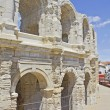 Roman Arena in Arles, Provence, France - Stock Photo