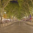 Stock Photo: Main street of Aix-en-Provence, south of France