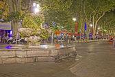 Nightshot of Aix-en-Provence, France — Stock Photo