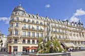 Place de la Comedie, Montpellier, France — Stock Photo