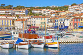 Port of Cassis, south of France — Stock Photo