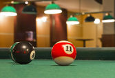 Snooker balls — Foto Stock