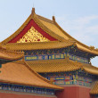 Royalty-Free Stock Photo: Tile roofs in the Forbidden City