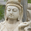 Stock Photo: Budhstatue
