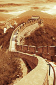 Great wall of Beijing, China — Stock Photo