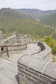 The Great Wall of China on a sunny day — Stock Photo