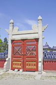 Gate of the Temple of Heaven, Beijing — Stockfoto