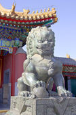 The Copper Lion in Summer Palace — Stock Photo