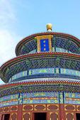 знаменитый храм неба — Стоковое фото