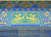 Art details in the Temple of Heaven in Beijing — Stock Photo