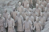 Terracotta warriors, Xian, China — Stock Photo