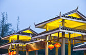 Typical Asian architecture — Stock Photo