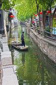 運河の村ルーチー特区 — ストック写真