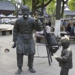 Stock Photo: Statues in the streets of Shanghai