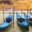 Stock Photo: Sunset in Venice, Italy