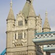 Detail of the Tower Bridge, London, England — Foto Stock