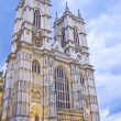 The Westminster Abbey church, London, UK - Stock Photo